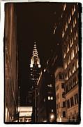 Chrysler Building Print by Donna Blackhall