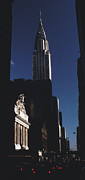New York City Photos - Chrysler Building Grand Central Sun Streaked by Tom Wurl