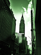 42nd Street Digital Art - Chrysler Building New  York by C Lythgoe