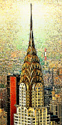 East Coast Digital Art Posters - Chrysler Building New York City 20130503 Poster by Wingsdomain Art and Photography