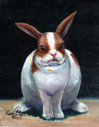 Llmartin Originals - Chubby Bunnie by Linda L Martin