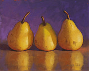 Food And Beverage Pastels Originals - Chubby by Sarah Blumenschein
