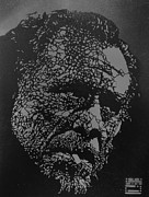 Bukowski Prints - Chuck and His Damnable Pleasures Print by Paydirt
