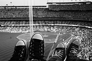 Dodger Stadium Prints - Chucks2 Print by John Aguillon