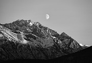 Alaska Photos - Chugach Moon   by Ed Boudreau