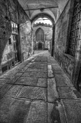 Old Door Framed Prints - Church Alley Framed Print by Ian Mitchell