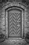 Medieval Entrance Prints - Church Door 02 Print by Antony McAulay