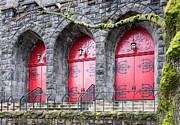 Oregon Art - Church Doors by Niels Nielsen