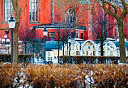 Sweden Photos - Church Garden by Viacheslav Savitskiy