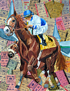 Kentucky Derby Mixed Media - Church Hill Downs IV by Michael Lee