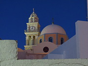 Catalina Velasquez  - Church in Fira