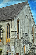 Bahamas Photos - Church In Nassau by Kathy Jennings