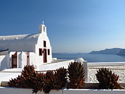Catalina Velasquez  - Church in Oia