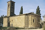 Photographies Prints - Church Of Sant Jaume De Viladrover Print by Everett