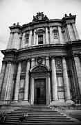 Saint Luke Framed Prints - Church of santi luca e martina in the imperial forum Rome Lazio Italy Framed Print by Joe Fox