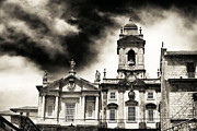 Francis Metal Prints - Church of Sao Francisco Metal Print by John Rizzuto