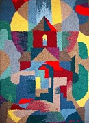 Hand Crafted Tapestries - Textiles - Church of the Light by Armen Abel Babayan