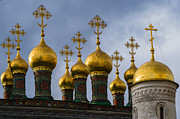 Russian Cross Photos - Church Of The Nativity Of Moscow Kremlin by Alexander Senin