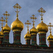 Russian Cross Photos - Church Of The Nativity Of Moscow Kremlin - Square by Alexander Senin