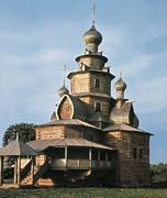 Slavic Art - Church Of The Transfiguration. 1756 by Everett