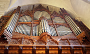 Protestantism Prints - Church Organ  Print by La di  Kirn