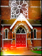 Entryway Prints - Church Photograph Print by Stephan Chagnon Laura  Carter