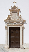 Portal Photo Metal Prints - Church Portal Metal Print by Jose Elias - Sofia Pereira