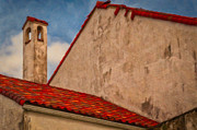 Kathleen K Parker - Church Rooftop and Bell Tower