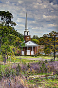 Old Home Place Prints - Church Southern Style Print by Danny Pickens