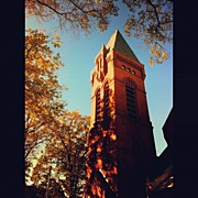 Shawn Who - #church #steeple #fall...