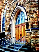 Devote Framed Prints - Church - Step right in  Framed Print by Janine Riley