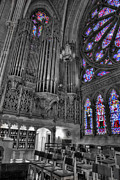 Liturgical Prints - Church - The Cathedral of Dreams II Print by Lee Dos Santos