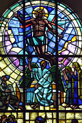 Pentecost Photos - Church window by Tommy Hammarsten