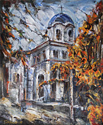 Stefano Popovski - Church Yard - Autumn...