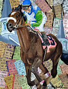 Kentucky Derby Mixed Media - Churchill Downs by Michael Lee