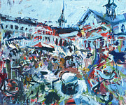 Horse Racing Paintings - Churchill Downs by Robert Joyner
