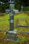 Crag Photo Originals - Churchyard Cross by Graham Foulkes