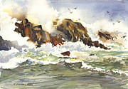P Anthony Visco - Churning Surf