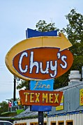 Tex-mex Art - Chuys Tex Mex by Kristina Deane