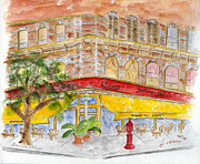 Greenwich Village Paintings - Ciao in Greenwich Village by Lynn Lieberman