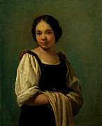 Gathered Dress Photos - Cifrondi Antonio, Peasant Girl, 1720 by Everett