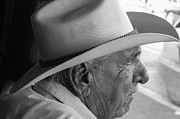 Cigar Maker Remembering His Past Print by Rene Triay Photography