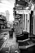 Louisiana Artist Prints - Cigar Shoppe Print by John Rizzuto