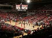 Arena Photo Prints - Cincinnati Bearcats Fifth Third Arena Print by Replay Photos