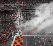 Espn Photo Prints - Cincinnati Cheer Print by Dan Sproul