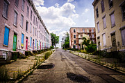 Dilapidated Houses Prints - Cincinnati Glencoe-Auburn Place Image Print by Paul Velgos