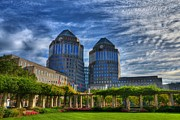 Tall Buildings Prints - Cincinnati Landmarks 6 Print by Mel Steinhauer