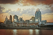 Cincinnati Cincinnati Reds Prints - Cincinnati Ohio VII Print by Scott Meyer