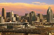 Randall Branham - Cincinnati Over The Bridge