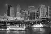Randall Branham - Cincinnati Skyline and Paddle Boats